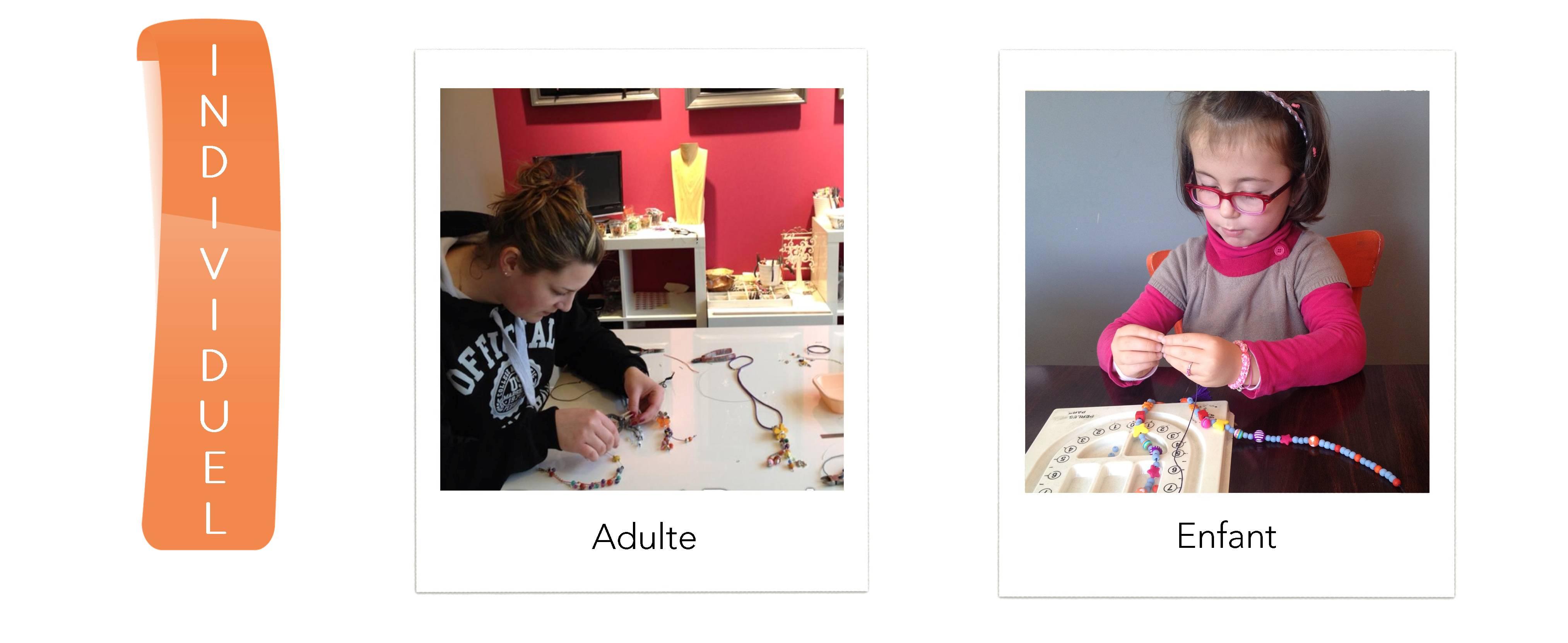 Atelier individuel Perles et Passions
